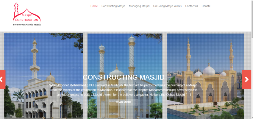 masjid construction